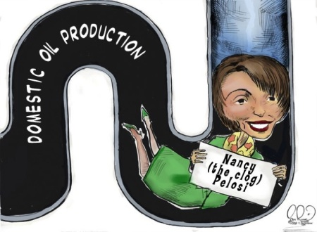 toon_pelosi_the_oil_clog